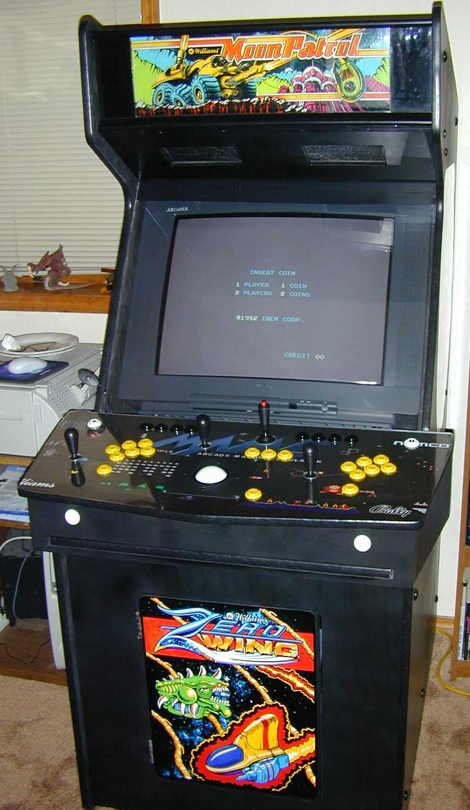 Arcade Cabinet Dimensions Ultimate Mame Cabinet Blogs